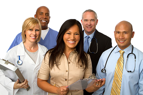 A group of healthcare professionals